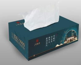 抽纸礼盒设计